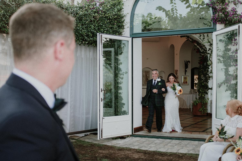 bride-arrive-ceremony-matrimonio-villa-eva-ravello-francesco-ferrarini